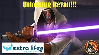 Revan Unlocking And Testing!!! #ExtraLife2018