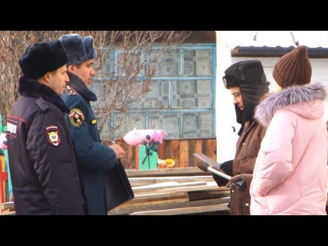Огнеборцы и полиция вышли в рейды