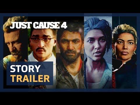 Trailer de l'histoire du jeu de Just Cause 4