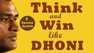 THINK AND WIN LIKE DHONI BY SFURTY SAHARE | ANIMATED BOOK SUMMARY
