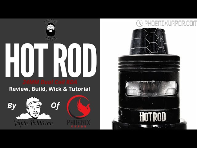 Hot Rod RDA by Swedish Vaper - Finally a Hot Rod I can afford (and you can score!)