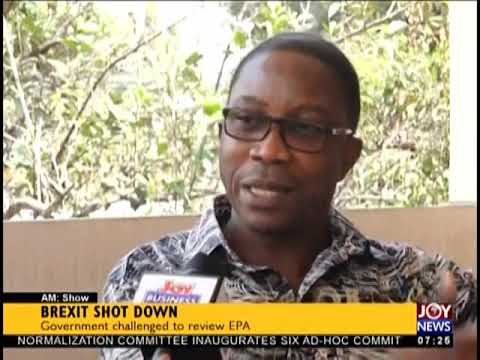 Brexit Uncertainties - AM Business on JoyNews (16-1-19)