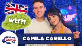 Camila Cabello Has Gone FULL British Filming 'Cinderella' 🇬🇧 | Saturday Night Takeaway | Capital