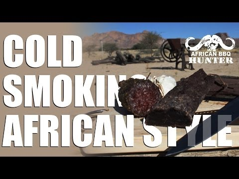 How to make a cold smoker – African BBQ Hunter-style