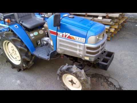 японский трактор Iseki tm17 обзор, test drive