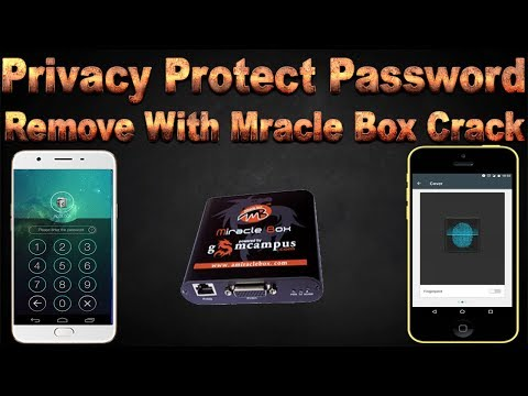 How to use Miracle Box to bypass Privacy Protection Password on