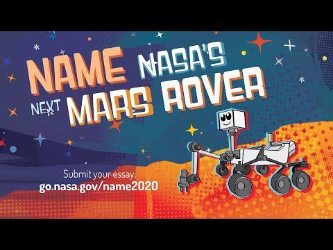Name the next Mars Rover – enter the Mars 2020 Name the Rover essay contest