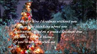 THE PLATTERS - BLUE CHRISTMAS