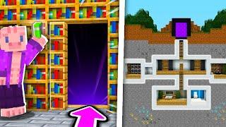 Prozkoumávám TAJNÉ MÍSTNOSTI v Minecraftu!