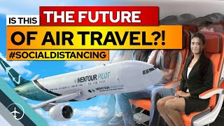 The Future Of Air-travel? Social Distancing