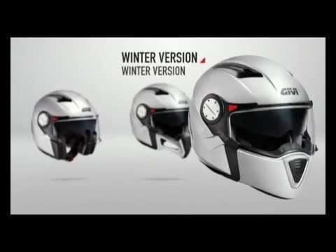 Auswechselbarer Kinnschutz für optimale Sicherheit und höchsten Komfort im Sommer wie im Winter. Ohne Kinnschutz wird der X.01 ein bequemer Jet-Helm.