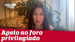 Thaís Oyama: Flávio Bolsonaro vai brigar para não ir ao tribunal