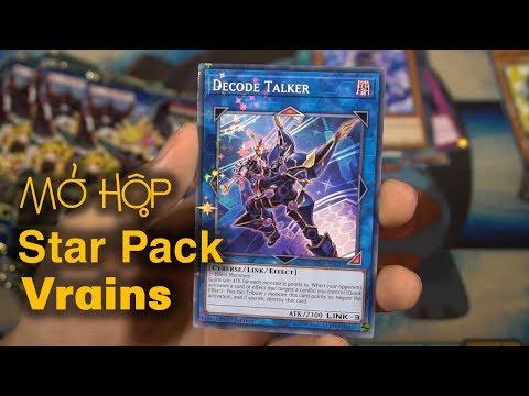 Mở hộp Star Pack VRains 2018 | M2DA | Bổ sung sức mạnh cho Cyberse Monster