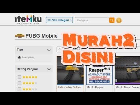 Website Jual Item/UC PUBG Mobile Murah