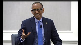 President Kagame: We don't follow rules, we follow choices. There is no rule book for us.
