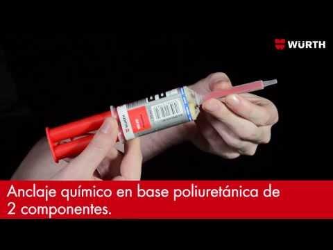 WIT-FIX 25ML ANCLAJE QUíMICO DE POLIURETANO 2 COMPONENTES ART Nº 0903470001