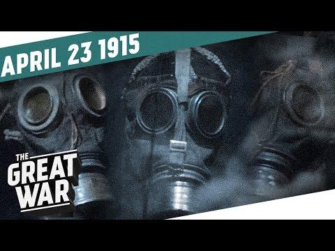 Bitva o Ypry a jedovatý plyn - Velká válka