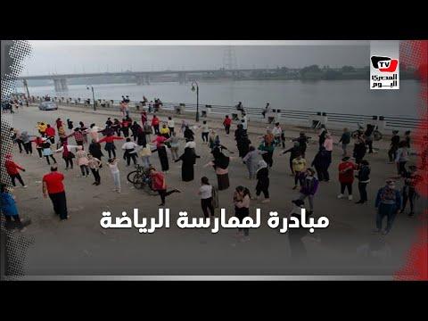 مبادرة شبابية لممارسة الجري وركوب الدرجات بالمنصورة