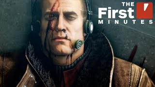 Wolfenstein 2: The New Colossus on Nintendo Switch - The First 19 Minutes