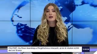 RTK3 Lajmet e orës 13:00 15.10.2019