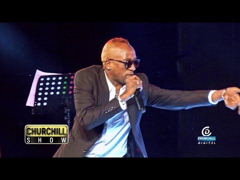 "Ommy Dimpoz Debuts ""Yanje"" on Churchill Show"