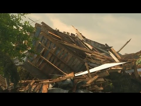 Tornado damages houses, buildings in Port Austin