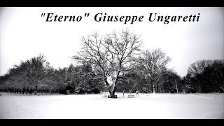 Kadr z teledysku Eterno tekst piosenki Giuseppe Ungaretti
