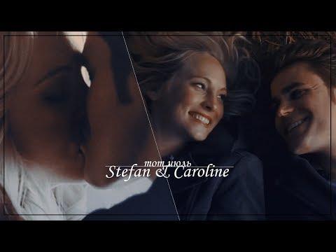 Stefan & Caroline (+Elena) | тот июль