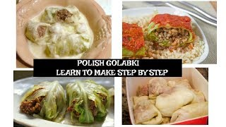 POLISH Golabki/ Cabbage Rolls - Easy and FUN to follow tutorial