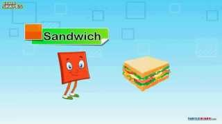 Learn Shape Square video   Math video for kids