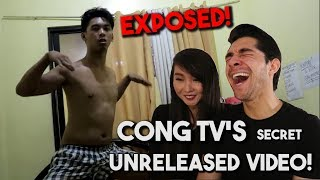 Reacting to CongTV Reacting to Ranz Kyle Dance Challenge