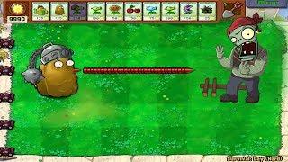 1 Cactus Pea vs Gargantuar Epic Hack Plants vs Zombies