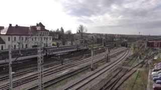 preview picture of video 'Sędziszów dworzec PKP - TLK Ustronie relacji Kołobrzeg - Kraków Główny'