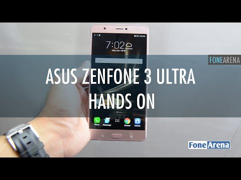 Asus Zenfone 3 Ultra Hands On