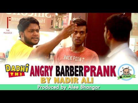 Angry Barber