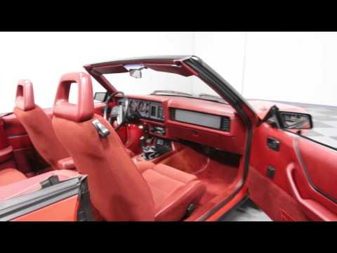 Video of '84 Mustang - MAFV
