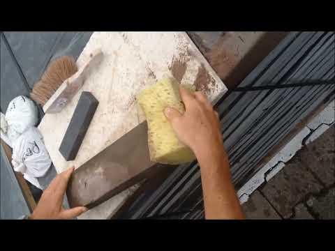 Comment réparer du grès ?