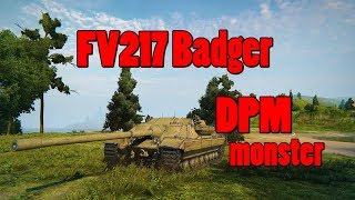 FV 217 Badger - World of Tanks - 8777 dmg, 6 kills (test server)