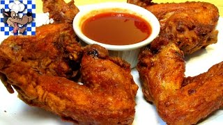 How to make Crispy Chinese Chicken Wings - Chinese Restaurant Style
