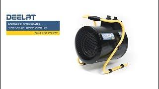 Portable Electric Heater – Fan Forced – 330 mm Diameter SKU #D1172977