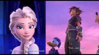 Kingdom Hearts III: Frozen Let It Go