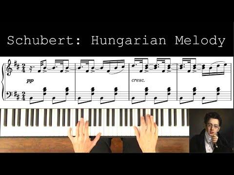 Schubert Hungarian Melody