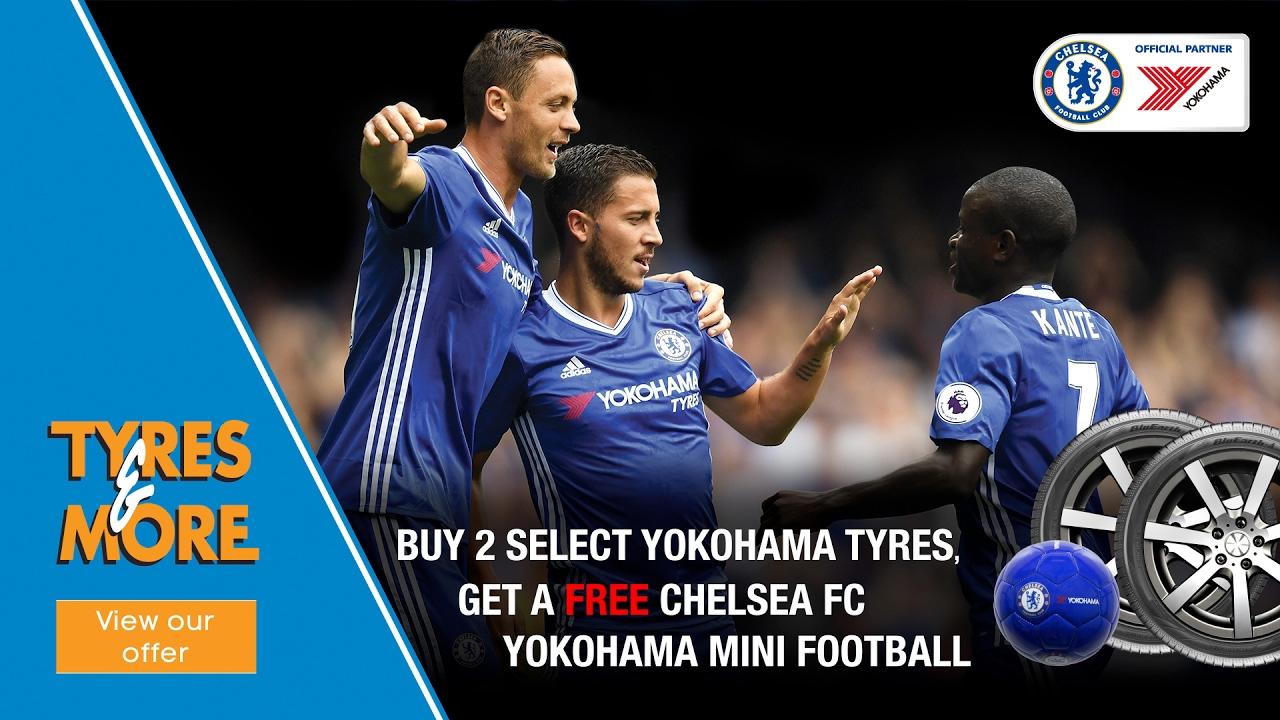 Tyres & More Chelsea FC Mini Football Promo - 15s