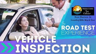 Thumbnail image of YouTube video for Vehicle Inspection road test video