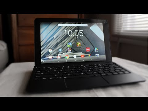 RCA Atlas 10 Pro 2-in-1 Android 7.0 Hybrid Tablet Unboxing & 1st Impressions!