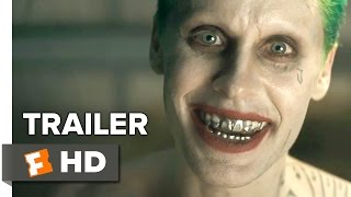 Suicide Squad ComicCon Trailer 2016  Jared Leto Will Smith  DC Comics Movie