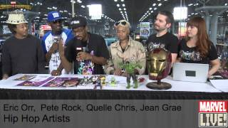 Eric Orr, Pete Rock, Quelle Chris, and Jean Grae Show Off Their Comic Book Knowledge at NYCC 2014