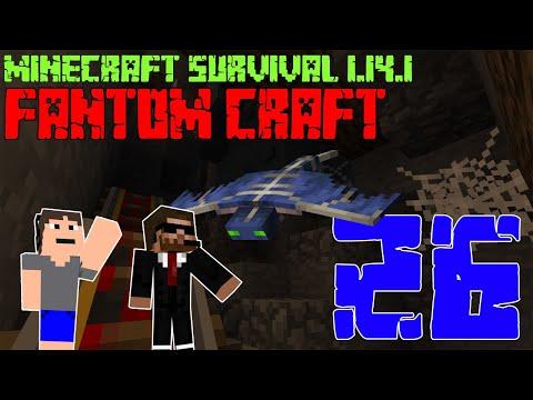 1.14 DOLOVÁNÍ! Minecraft survival 1.14.1 - FANTOM CRAFT #26 /wCukeMan #doly #fantomcraft