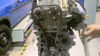 Mercedes w202 c-230 timing chain tensioner removal and replacement