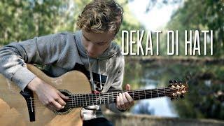 RAN - Dekat Di Hati - Fingerstyle Guitar Cover Tabs by Mattias Krantz
